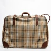 RRP £1865 Burberry Travel Briefcase in Brown and Black - AAQ0603 - Grade A Please Contact Us