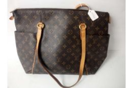 RRP £1300 Louis Vuitton Monogram Canvas Brown Ladies Handbag (Aan0201)