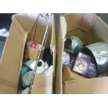 RRP £250 Pallet To Contain Assorted House Hold Items Such Has Lamp Shades,Floor Lamp,Plates/Mugs And