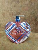 (Jb) RRP £60 Unboxed 100Ml Tester Bottle Of Vera Wang Preppy Princess Eau De Toilette Spray Ex-Displ