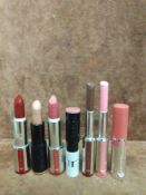 (Jb) RRP £210 Lot To Contain 7 Testers Of Assorted Givenchy Lipsticks All Assorted Shades And Ex-Dis
