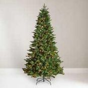 RRP £250 Boxed John Lewis And Partners 7Ft Pre Lot Newington Christmas Tree