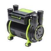 RRP £120 Boxed Salamander Ora 1.5Bar Twin Positive Shower Pump