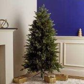RRP £400 Boxed Santa'S Best 116 Function Pre-Lit Deluxe Spruce Christmas Tree With Remote