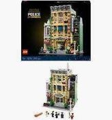 RRP £170 Boxed Lego Creator Modular Buildings Collection Police Station Building Set