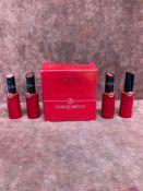 (Jb) RRP £160 Lot To Contain 4 Testers Of Giorgio Armani Lipsticks And 1 Boxed Tester Of Giorgio Arm