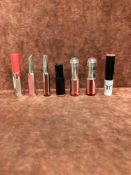 (Jb) RRP £210 Lot To Contain 7 Testers Of Assorted Premium Givenchy Lipsticks All Assorted Shades An