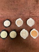 (Jb) RRP £245 Lot To Contain 7 Testers Of Dior Dreamskin Foundation Cushions In Assorted Shades All