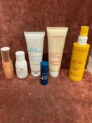 (Jb) RRP £185 Lot To Contain 6 Testers Of Assorted Premium Clarins Products To Include 15Ml Extra Fi