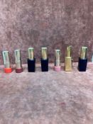 (Jb) RRP £210 Lot To Contain 7 Testers Of Assorted Estee Lauder Lipsticks All Assorted Shades And Ex