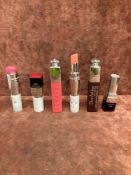 (Jb) RRP £180 Lot To Contain 6 Testers Of Assorted Premium Dior Lipsticks In Assorted Shades All Ex-