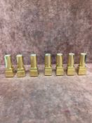 (Jb) RRP £210 Lot To Contain 7 Testers Of Assorted Premium Estee Lauder Lipsticks All Ex-Display And