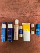 (Jb) RRP £200 Lot To Contain 6 Testers Of Assorted Premium Clarins Products To Include 50Ml V Shapin
