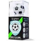 RRP £100 Lot To Contain 2 Boxed Sphero Mini Soccer App Enabled Robotic Ball (Science-Tech-Engineerin