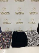 Combined RRP £480 Lot To Contain 24 Pairs Of Brand New Assorted Styles Of Women'S Pajama Bottoms