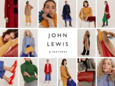 Combined RRP £430 Lot To Contain Assorted John Lewis Women's And Men's Clothing To Include Round Nec