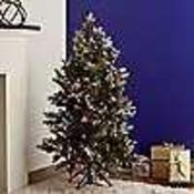 RRP £205 Boxed Alison Cork Sugar Spruce Dusted 4Ft Christmas Tree