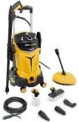 RRP £200 Boxed Wolf 4X4 Pressure Washer