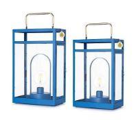 RRP £70 Boxed Pair Of Amanda Holden Bundleberry Decorative Lanterns