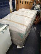 RRP £200 Bagged Fursdon 1500 Double Size Divan Bed Base