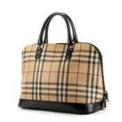 RRP £1,550 Burberry Monogram Alma Handbag Bege/Dark Brown - EAG3627 - Grade AB - Please Contact Us