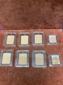 (Jb) RRP £200 Lot To Contain 6 Testers Of Clarins Pressed Powder Foundations And 2 Testers Of Clarin