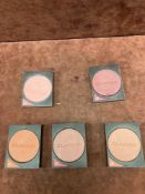 (Jb) RRP £300 Lot To Contain 15 Testers Of Assorted Clarins Powder Blushes All Ex-Display And Assort