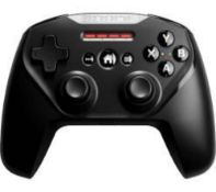 RRP £80 Lot To Contain √Ó2 Boxed Steel Series Nimbus + Wireless Gaming Controller For Iphone Ipad An