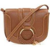 RRP £275 Project Earth For Nature See By Chloe Hanna Leather Cross-Body Bag