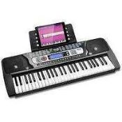 RRP £70 Lot To Contain 1 Boxed Rockjam Rj654 54-Key Keyboard