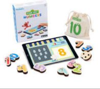RRP £90 Lot To Contain 2 Boxed Marbotic Sesame Street Number For Ipad Age 3+