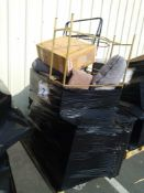 RRP £600 Pallet To Contain Assorted House Gold Furniture Including 1 Side Table 1 Side Table With Dr