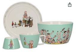 (Jb) RRP £400 Lot To Contain 16 Sets Of 4Pieces Brand New Boxed High End Department Store Roald Dahl