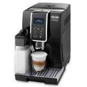 RRP £600 Boxed Brand New Delonghi Dinamica Automatic Bean To Cup Stainless Steal Cappuccino Coffee