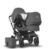 RRP £1300 Boxed Brand Bugaboo Donkey To Children Push Chair 51.056 (Appraisals Available On Request)