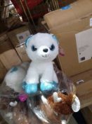 RRP £140 Lot To Contain 10 Brand New Aurora Childrens Teddies 1.180 (Appraisals Available On