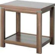 RRP £100 Boxed Small Solid Wooden Sqaure Side Table (Appraisals Available On Request) (Pictures