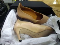 RRP £110 Lot To Contain 2 Boxed Brand New Pairs Of Sargossa Ladies Shoes In Size 4 1.186 (Appraisals