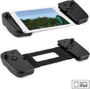 RRP £200 Lot To Contain 2 Boxed Game Vice Gaming Grip Controllers Compatible With Ipad Mini