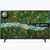 RRP £220 Boxed Lg Uhd Tv 43 Inch (Appraisals Available On Request) (Pictures For Illustration
