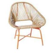 RRP £105 Boxed Bundle Bury By Amanda Holden Garden Chair 180027 (Appraisals Available On Request) (