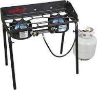 RRP £160 Boxed Camp Chef Outdoor Portable Gas Hob 4786408 (Appraisals Available On Request) (
