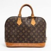 RRP £1,380 Louis Vuitton Alma Handbag Brown - AAR0652 - Grade AB - Please Contact Us Directly For