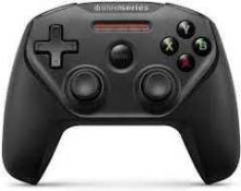 RRP £140 Lot To Contain 2 Boxed Steelseries Nimbus Plus Wireless Gaming Controller (Appraisals