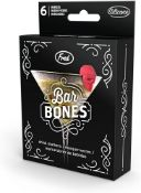 (Jb) RRP £720 Lot To Contain 72 Brand New Boxed High End Department Store Packs Of 6 Bar Bones
