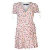RRP £350 Ladies Ralph Lauren Size 2 Floral Summer Dress 735709 (Appraisals Available On Request) (
