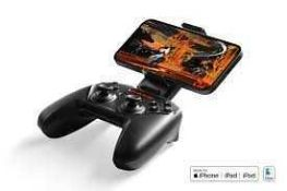 RRP £140 Lot To Contain Two Boxed Steel Series Nimbus Plus Wireless Gaming Controllers Compatible