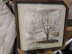 RRP £100 Boxed Morning Mist Too Framed Canvas Wall Art Print 46169 (Appraisals Available On Request)