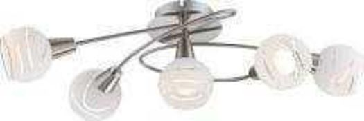 RRP £80 Lot To Contain 2 Boxed Assorted Lighting Items To Include A Search Light Almandite Brown And