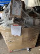 (Jb) RRP £1000 Pallet To Contain Large Assortment Of Household Goods To Include Washing Machine, Lig